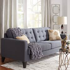 nyle graphite gray sofa graphite seat cushions and linens