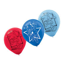 sonic party supplies sonic the hedgehog party supplies sonic hedgehog balloon