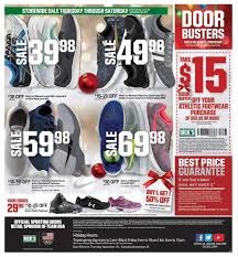 Is Sporting Goods Open On Thanksgiving S Sporting Goods Black Friday Ad 2017