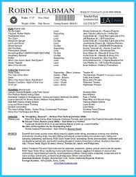 Movie Theatre Resume Film Resume Template Production Analyst Sample Resume Sample