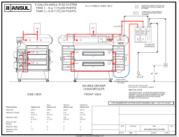 pre engineered restaurant kitchen fire system drawingsfire system ansul r102 fire suppression system drawing