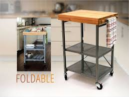 folding kitchen island cart fascinating origami folding kitchen island cart and inspirations