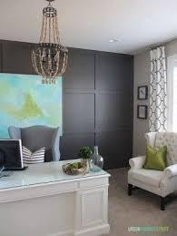 Grey Office Desk White Home Office Desks Foter