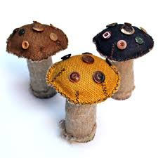 patch nyc home decor handmade burlap mushroom ob3 products