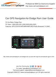 2005 Dodge Ram Navigation Radio Cargpsnavigationfordodgeramuserguide 130128000240 Phpapp02 Thumbnail 4 Jpg Cb U003d1359331396