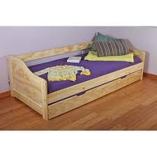 chambre en pin massif pas cher lit banquette avec 1 lit tiroir en pin