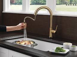 Touch2o Kitchen Faucet by Delta Faucet 9159t Cz Dst Trinsic Single Handle Pull Down Kitchen