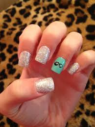 sparkly infinity nails nails pinterest infinity nails nail