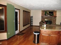 attractive paint ideas for open living room and kitchen great