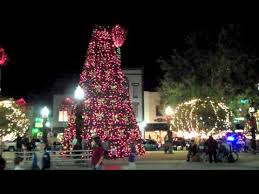 Downtown Ocala Holiday Lights All Around Town Ocala Pinterest