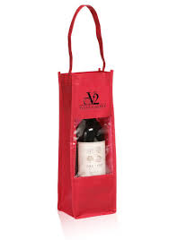 personalized gift bags personalized non woven wine bottle gift bags tot100 discountmugs