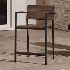 outdoor bar stools crate and barrel