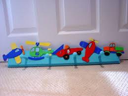Transportation Nursery Decor Boy Room Transportation Theme Wall Peg Hooks Nursery Decor Trucks