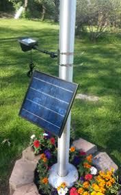 solar led flagpole light high end commercial solar led flagpole light product details
