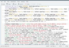 Text Decoration Html Fix Html Formatting Using Simple Shell Scripting