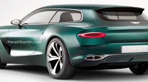 bentley concept car 2015 bentley exp 10 speed 6 concept rendered into a shooting brake