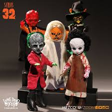 living dead dolls series 32 halloween black cat witch doll