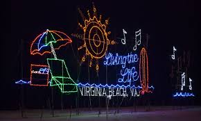 Beach Christmas Lights Virginia Beach Holiday Lights
