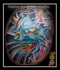 the best of tattoo ideas japanese mask tattoos