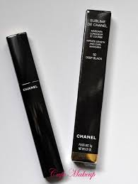 Mascara Chanel sublime de chanel mascara review caf礬 makeup