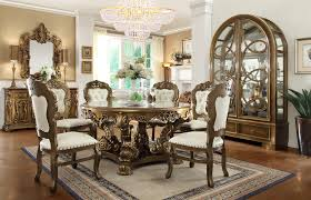 hd 8008 homey design victorian palace round dining set usa