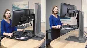 Office Desk Risers Winston E Desktop Riser Two Monitors