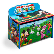 delta children u0027s products disney mickey mouse deluxe toy box