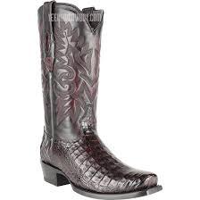 black cherry caiman belly cowboy boots handmade los altos boots