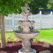 stylish garden fountains and outdoor decor outdoor garden fountain