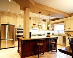 island with support column kitchens pinterest columns and