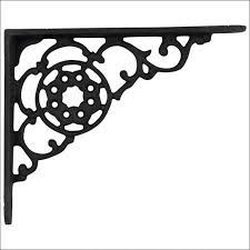 furniture marvelous funky shelf brackets ornamental iron shelf