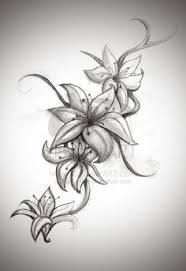 28 best 3d realistic tattoos tiger lily images on pinterest