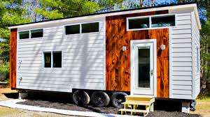 Modern Lofts by Tiny House On Wheels Modern 2 Sleeping Lofts With Outdoor Shower
