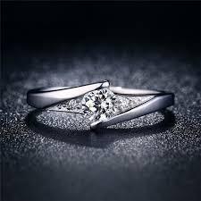 gold nice rings images Misananryne new wedding ring for women classic white gold color cz jpg