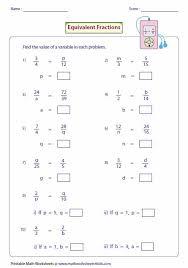 17 best maths images on pinterest equivalent fractions math
