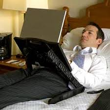 Bed Laptop Desk Laptop Desk Allows For In Bed Computing Techcrunch