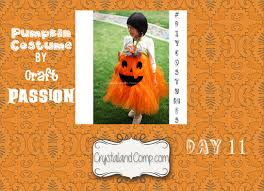 diy halloween costumes pumpkin costume for kids