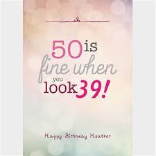 birthday card 50 birthday cards humorous print free funny turning