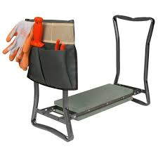 Garden Kneeler Bench Foldable Garden Kneeler Seat With Pouch Garden Kneelers