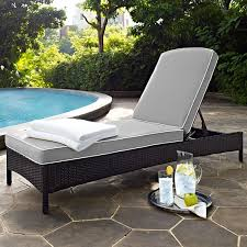 Wicker Patio Lounge Chairs Palm Harbor Wicker Chaise Patio Lounge Chair With Cushions Jcpenney