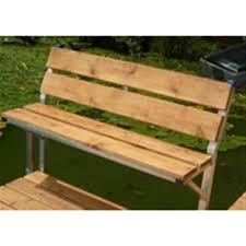 patriot cedar bench kit 186064 docks u0026 dock accessories at