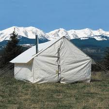 Wall Tent by Tents Here U0027s A Canvas Wall Tent With A Wo