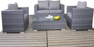 Grey Rattan Small Garden Sofa Set Luxury Rattan Furniture For - Vantage furniture