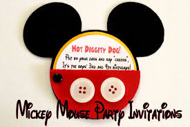 baby mickey invitations mickey mouse party invitations one artsy mama