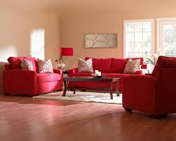 perfect red living room concept with additional home interior