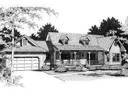 4 Bedroom Cape Cod House Plans Butler Way Cape Cod Ranch Home Plan 069d 0046 House Plans And More