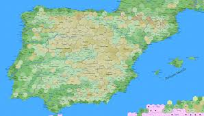 Portugal And Spain Map by The Tao Of D U0026d Spain U0026 Portugal