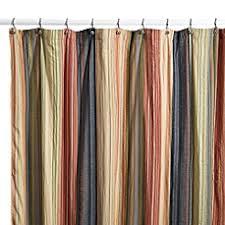 Fabric Stall Shower Curtain Retro Chic Fabric Shower Curtain 100 Cotton Bed Bath U0026 Beyond