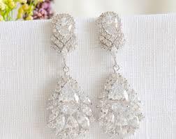 wedding earrings chandelier chandelier earrings bridal earrings wedding dangling earrings