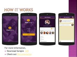 chat corner android mobile app template for social apps only at 99
